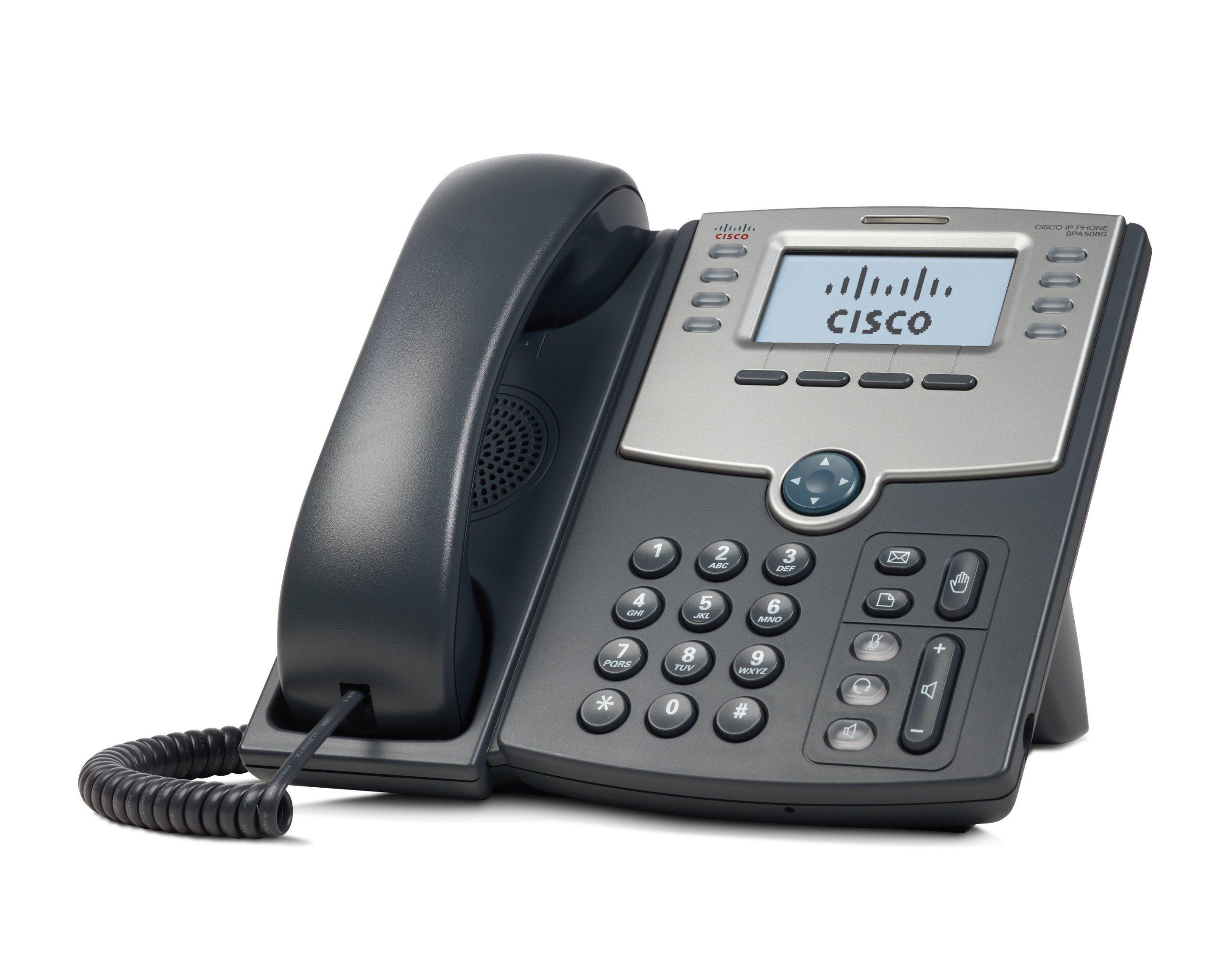Cisco SPA 508G 8-Line IP Phone (Renewed) by Cisco