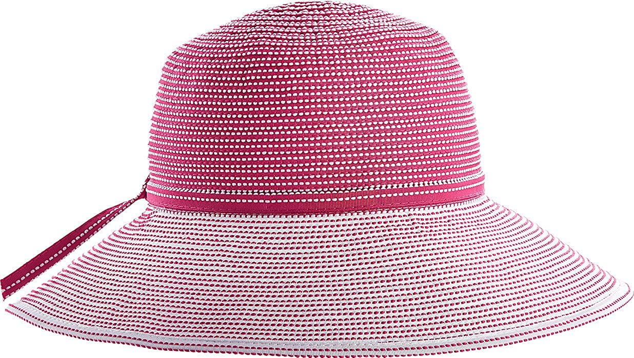 Coolibar UPF 50+ Girl's Tea Party Ribbon Hat - Sun Protective