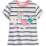 Disney Mickey and Minnie Mouse Sequin Ice Creams T-Shirt for Girls