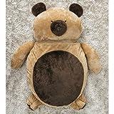 Puff Gigante para Dormir Pelúcia Urso Grande com 1 peças
