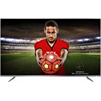 TCL 55DP648 55 Inch 4K Ultra HD HDR 10 TV with Smart Freeview Play - Silver (2018 Model) (Refurbished)