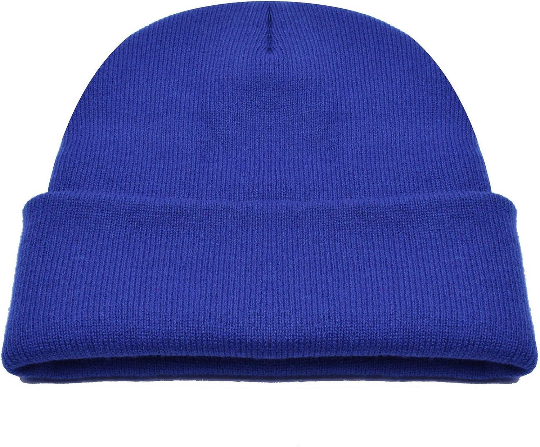PUSTEBLUME blue beanie with matching loop KU 54-57 cm winter set