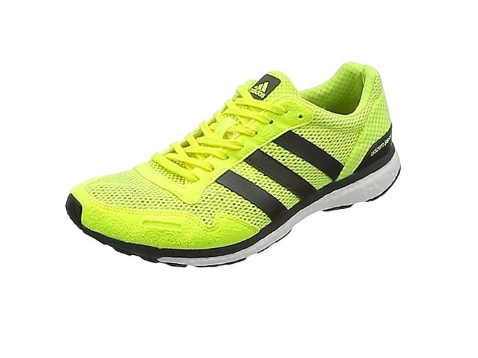 adidas Adizero Adios, Zapatillas de Running para Hombre, Naranja (Hireor/Conavy/Hirblu), 49 1/3 EU: Amazon.es: Zapatos y complementos