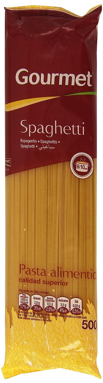 Gourmet - Spaghetti - Pasta alimenticia de calidad superior - 500 g: Amazon.es: Alimentación y bebidas