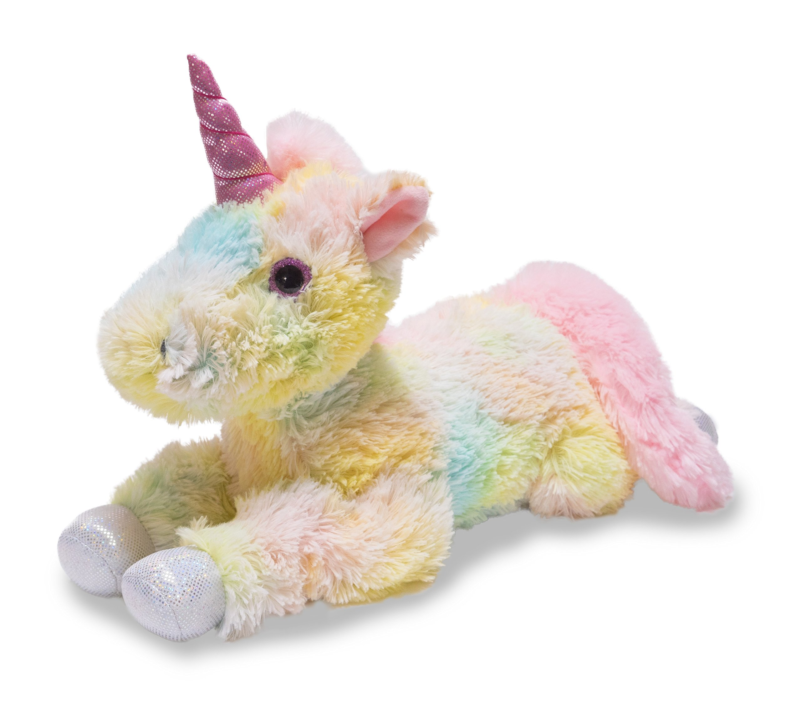 Cuddle Barn | Magical Sparkle Unicorn 20'' Soft Stuffed Animal Plush Toy | Eyes and Body Lights Up | Plays Magical Music and Chimes by Cuddle Barn