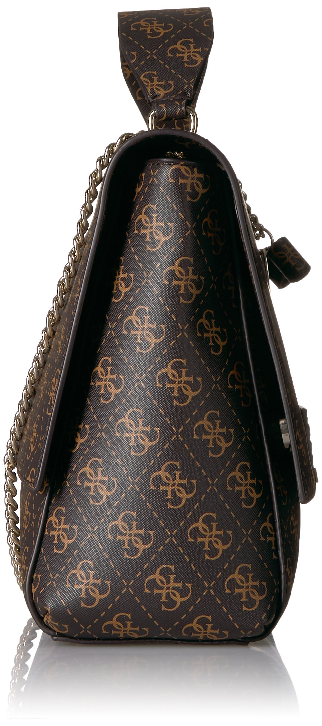 GUESS Ryann Logo Shoulder Bag, Brown by GUESS (Image #3)