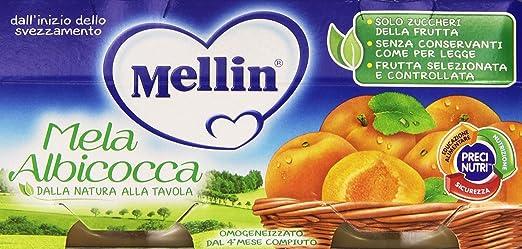 13 opinioni per Mellin- Omogeneizzato, Mela Albicocca, 100g (Confezione da 2)