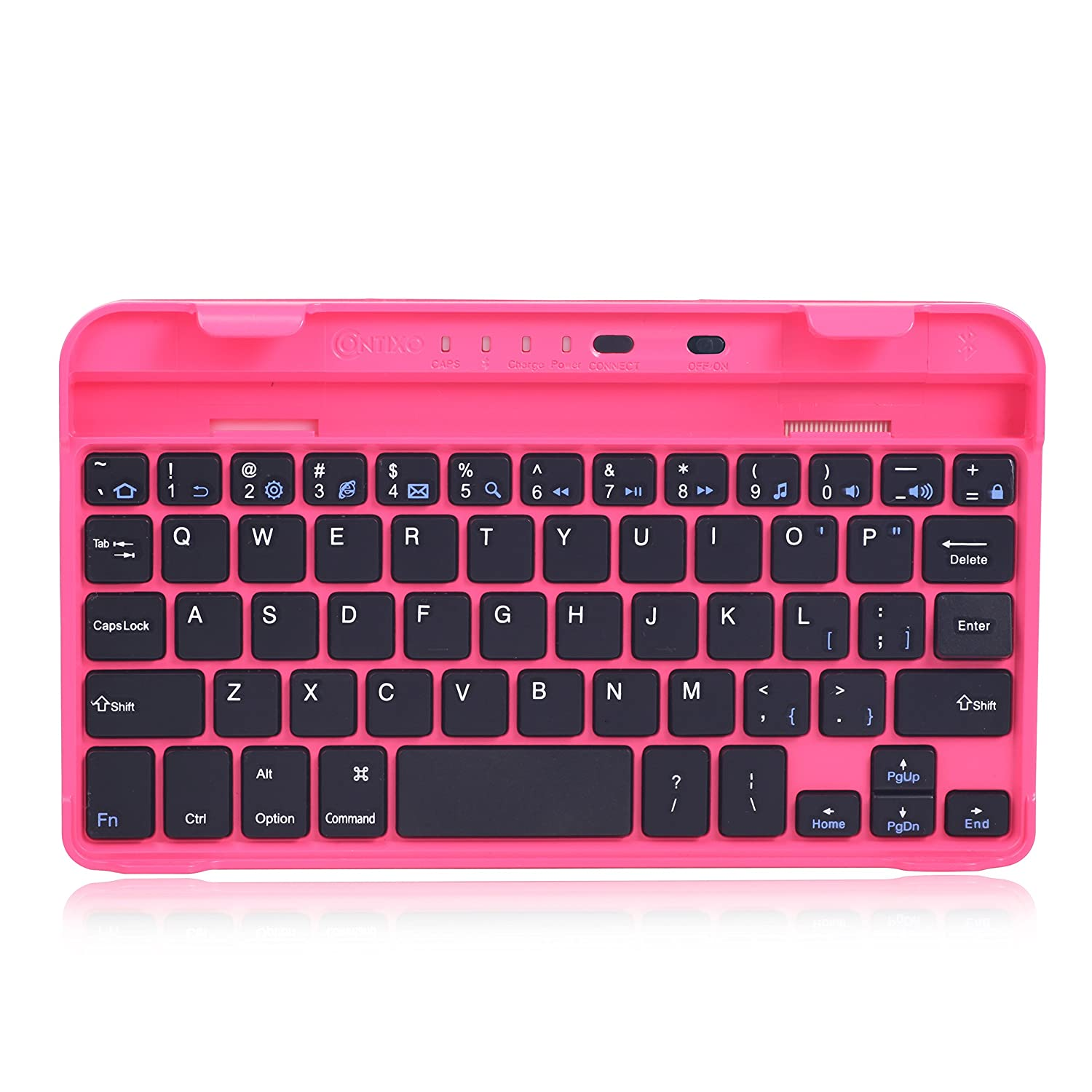 Contixo Bluetooth Keyboard with Dock Cradle for Contixo 7 Inch Tablet A78, Compatible with All Tablets, Smartphone and Other Bluetooth Mobile Devices (Black) KB-7