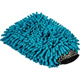 Chemical Guys Chenille Premium Scratch-Free Microfiber Wash Mitt, Blue, Model Number: MIC811