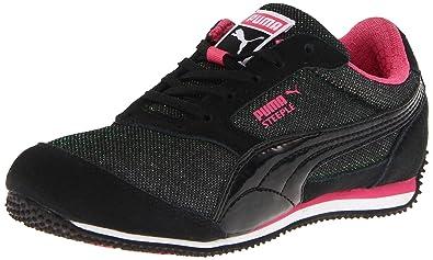 PUMA Steeple Glitter Jr Fashion Sneaker (Little Kid Big Kid) 53a9f1191