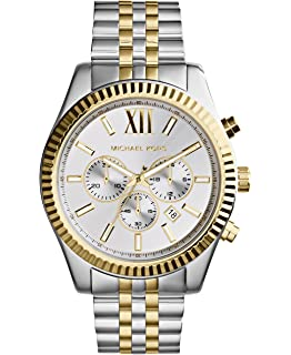0b2613a0dcfa Amazon.com  Michael Kors Men s Bradshaw Two-Tone Watch MK5976 ...