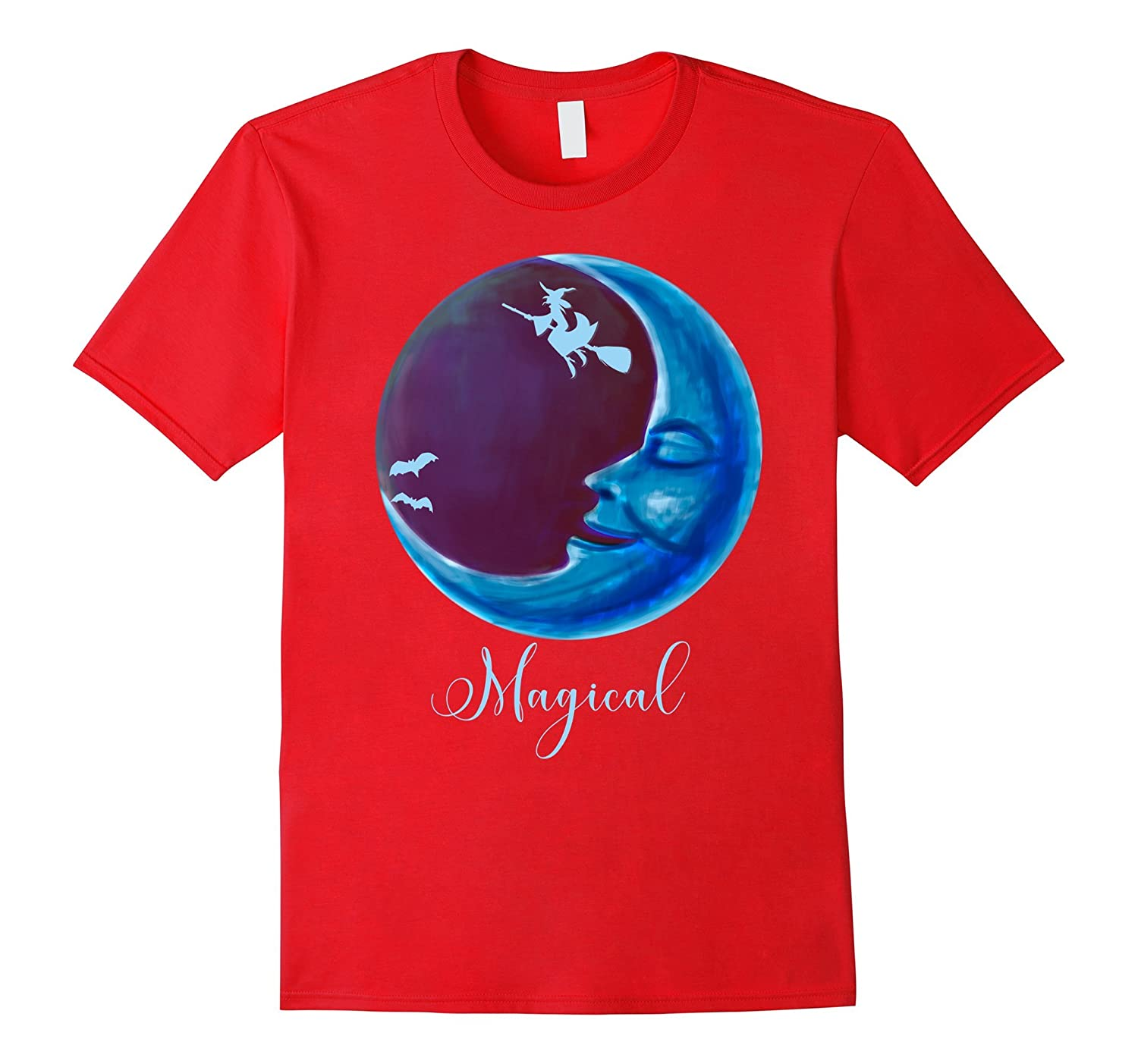 Magical Night Of Flight. A whimsical Happy Shirt-FL