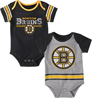 sale retailer af2e4 10f86 Amazon.com : Boston Bruins Baby Fan Hockey Onesie, 0-3 ...