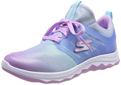 ce24849abd87 Skechers Girls  Diamond Runner Trainers  Amazon.co.uk  Shoes   Bags