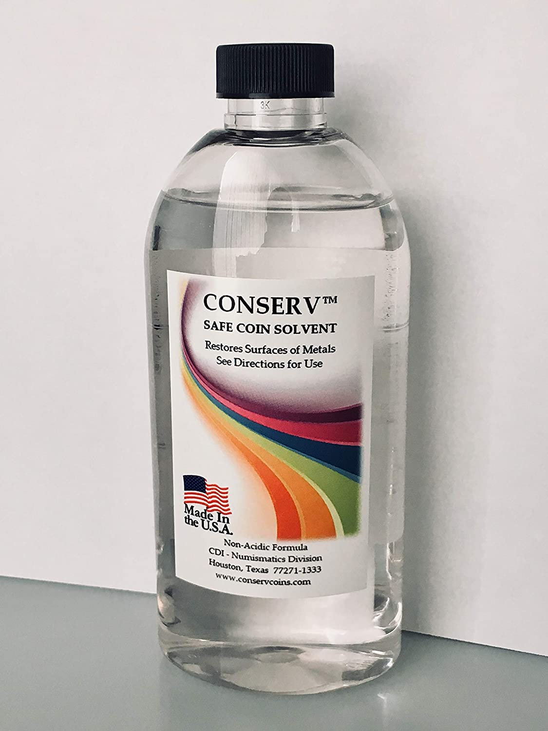 Conserv Safe Coin Solvent - 8 Ounce Bottle CDI 865890000215