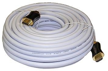 SAC Electronics AE0520W - Cable HDMI de 20 metros, blanco
