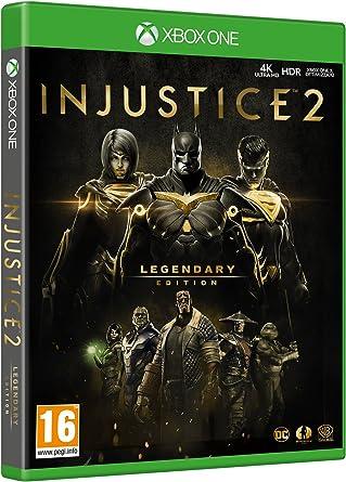 Injustice 2 - Legendary Edition - XBOX ONE [Importación italiana ...