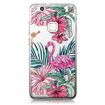 CASEiLIKE® Funda Huawei P10 Lite, Carcasa Huawei P10 Lite, Flamenco tropical 2239, TPU Gel silicone protectora cover