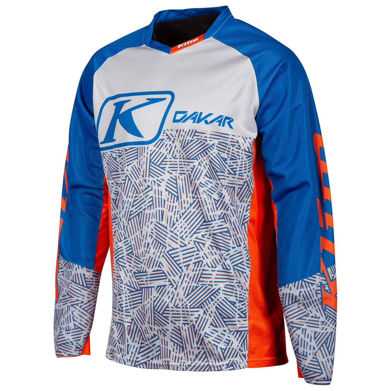 Dakar Jersey 2X Orange - Blue