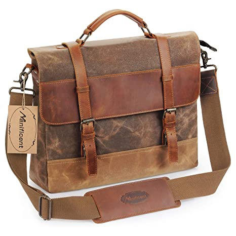 b14b8b98ed55 Amazon.com  Manificent Men s Messenger Bag