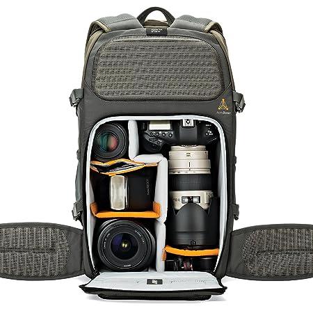 Lowepro Flipside Trek BP 450 AW Camera Bag (Grey, Dark Green) <span at amazon