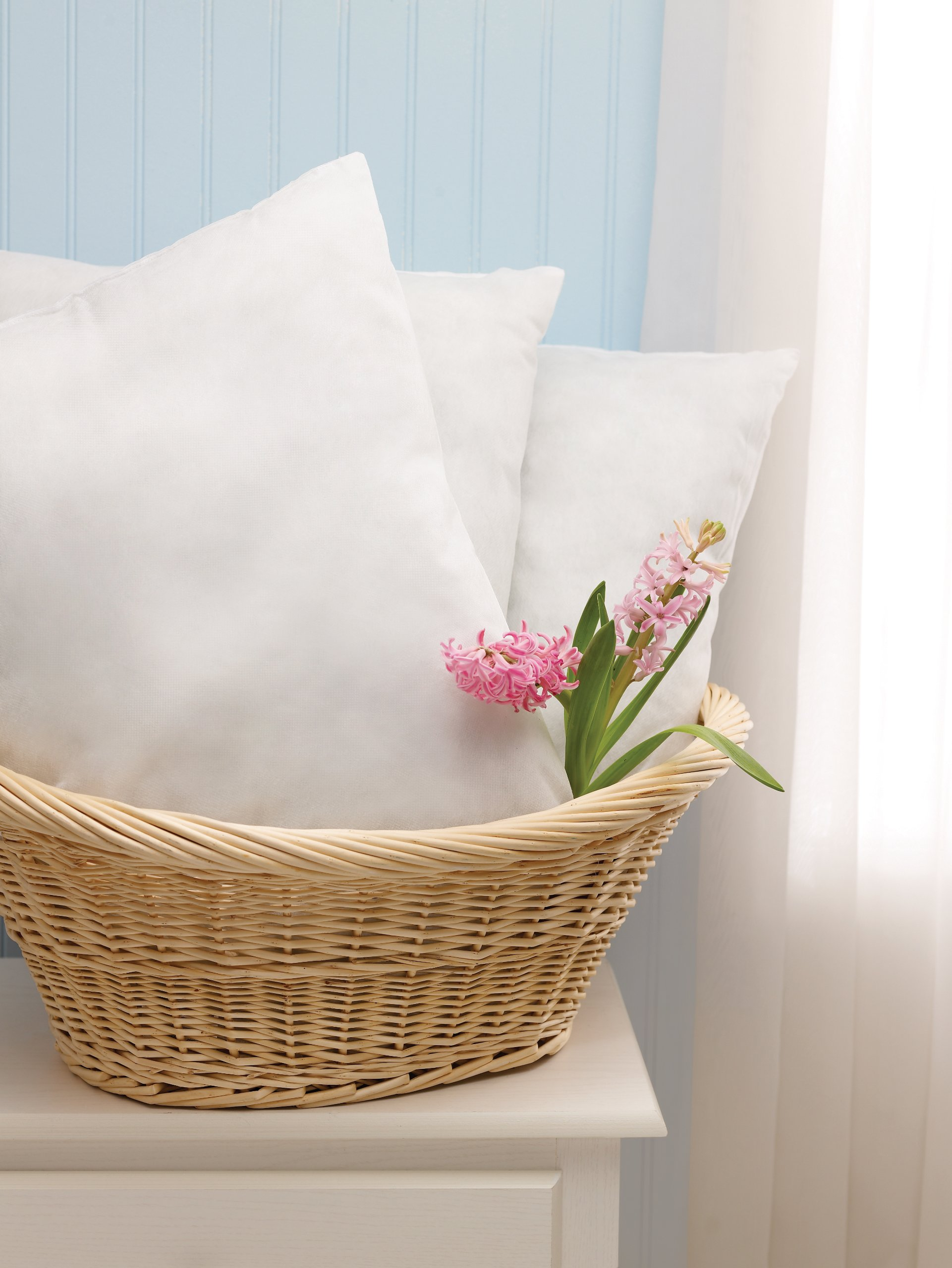 Medline NON24391 Classic Disposable Pillows, 16'' x 22'', White (Pack of 12)