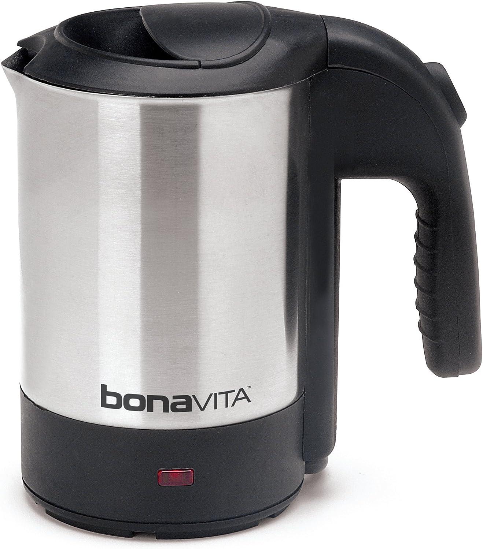 Amazon Com Bonavita 0 5l Mini Kettle Stainless Steel Kitchen Dining