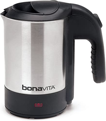 Bonavita 0.5L Mini Kettle is the perfect size kettle for travel