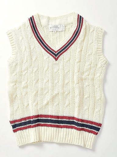 Cotton Cricket Vest 126-53-0003: Natural
