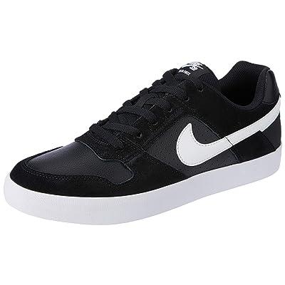 Nike 942237-010 : Men's SB Delta Force Vulc Skate Shoe Black White (13 D(M) US) | Fashion Sneakers