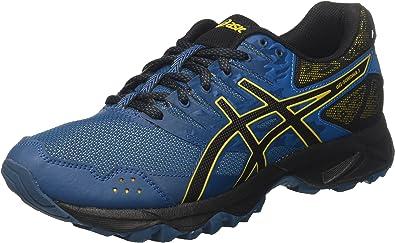 Asics Gel-Sonoma 3, Zapatillas de Running para Asfalto para Hombre, Multicolor (Ink Blue/Black/Lemon Curry 4590), 41.5 EU: Amazon.es: Zapatos y complementos