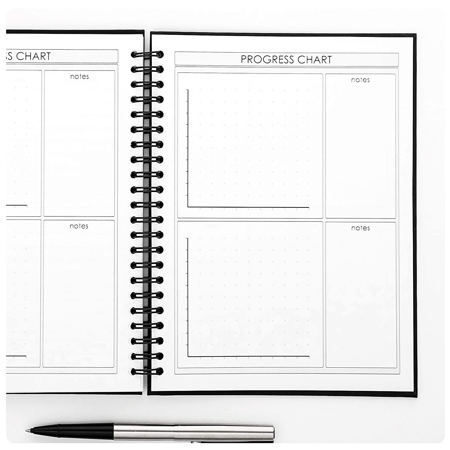 fitness and food journal by profit weight loss planner workout