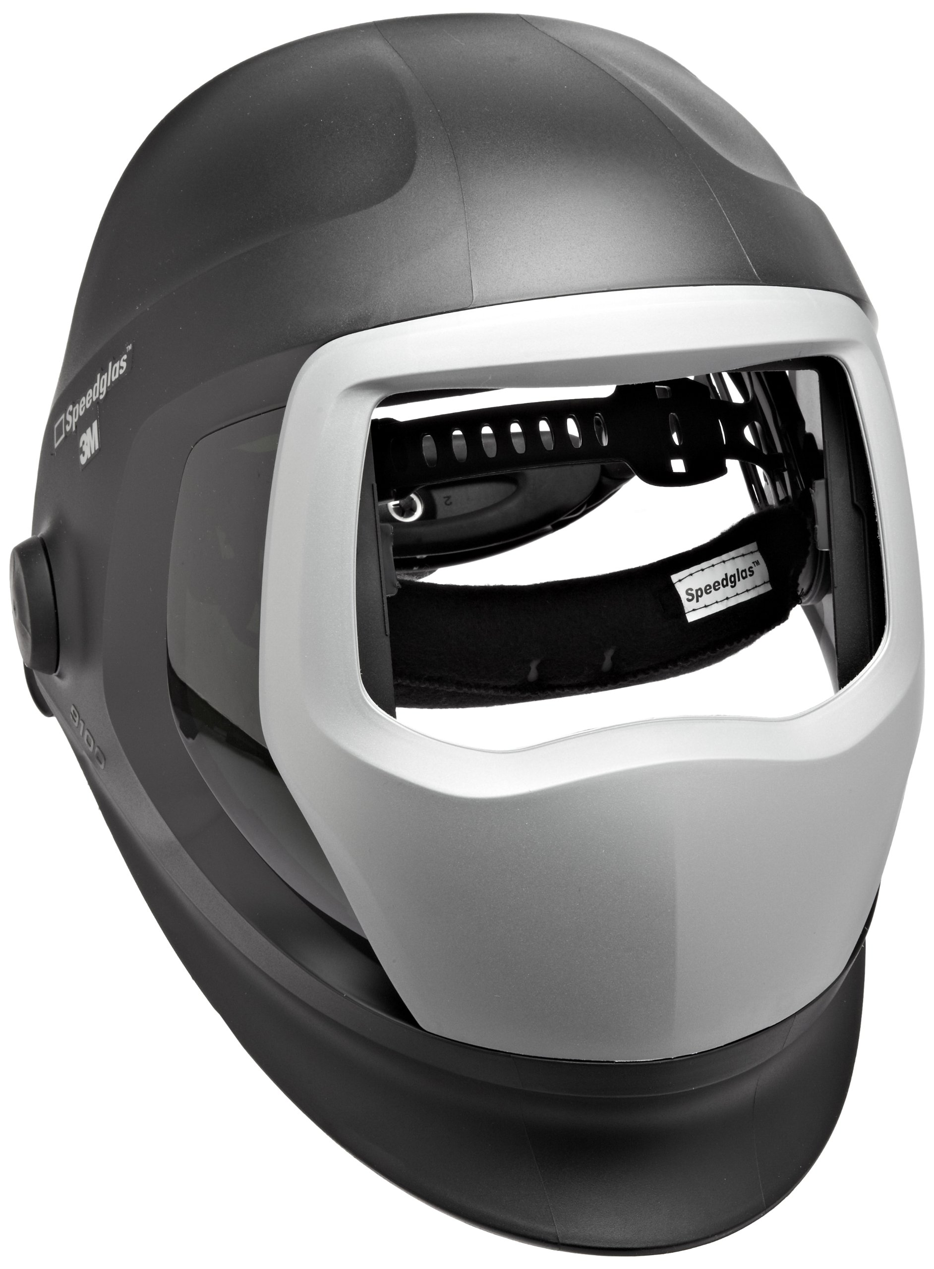 3M Speedglas Helmet 9100, Welding Safety 06-0300-51SW, Replacement Kit with SideWindows, Headband and Silver Front Panel