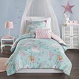 Mi Zone Kids Cozy Comforter Set, Colorful Fun Design All Season Children Bedding Girls Bedroom Décor, Full/Queen, Darya…