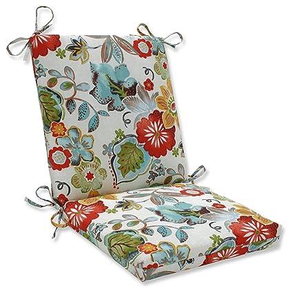 Amazon Com 36 5 Rustic Floral Print Outdoor Patio Chair Cushion