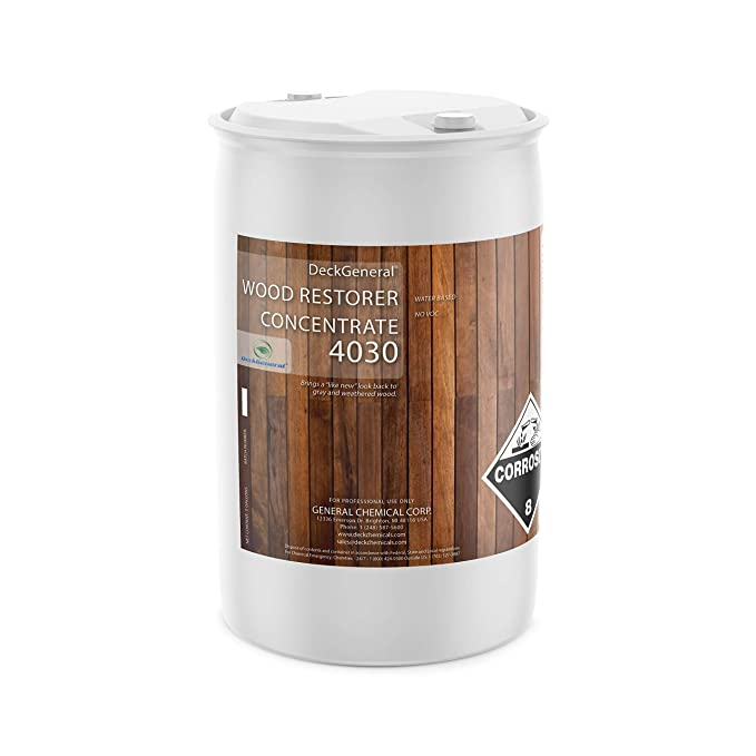 Amazon.com: Madera Restaurador concentrado 4030 (5 galones ...