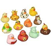 Fun Express Rubber Duck 100 pc Mega Ducky Duckie Assortment