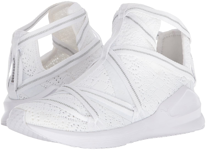 PUMA Women's Fierce Rope En Pointe Wn Sneaker B071K695HH 10 B(M) US|Puma White-puma White