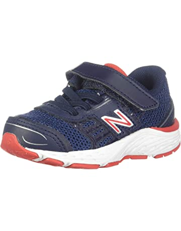 0e7c437381fad New Balance Kids' 680V5 Hook and Loop Running Shoe