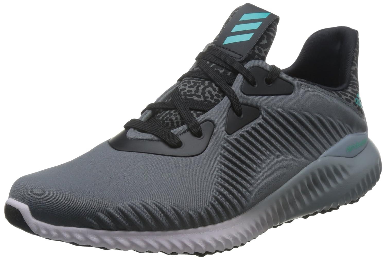 Adidas Alphabounce M, Zapatillas de Running para Hombre 42 EU|Gris (Ceniza / Menimp / Purhie)