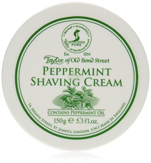 best peppermint shaving cream