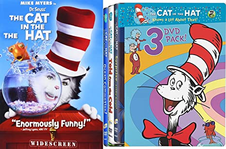ef3474ae Dr. Seuss 3 Original Classics Told from the Cold / Ocean Commotion /  Surprise Little