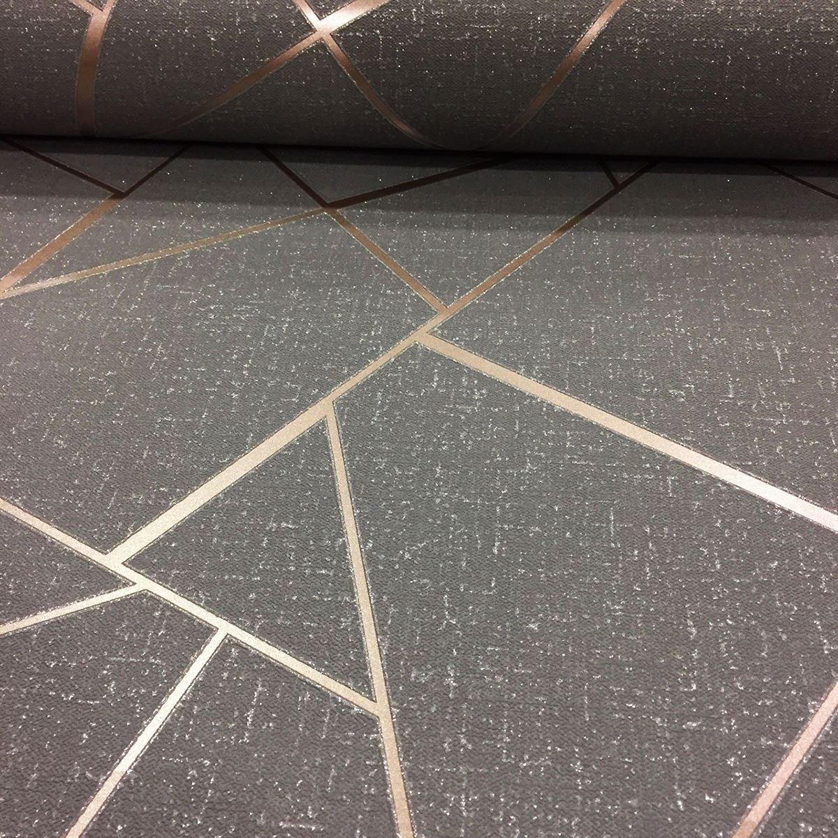 Fine D/écor fd42280/Fractal de cuarzo Plata