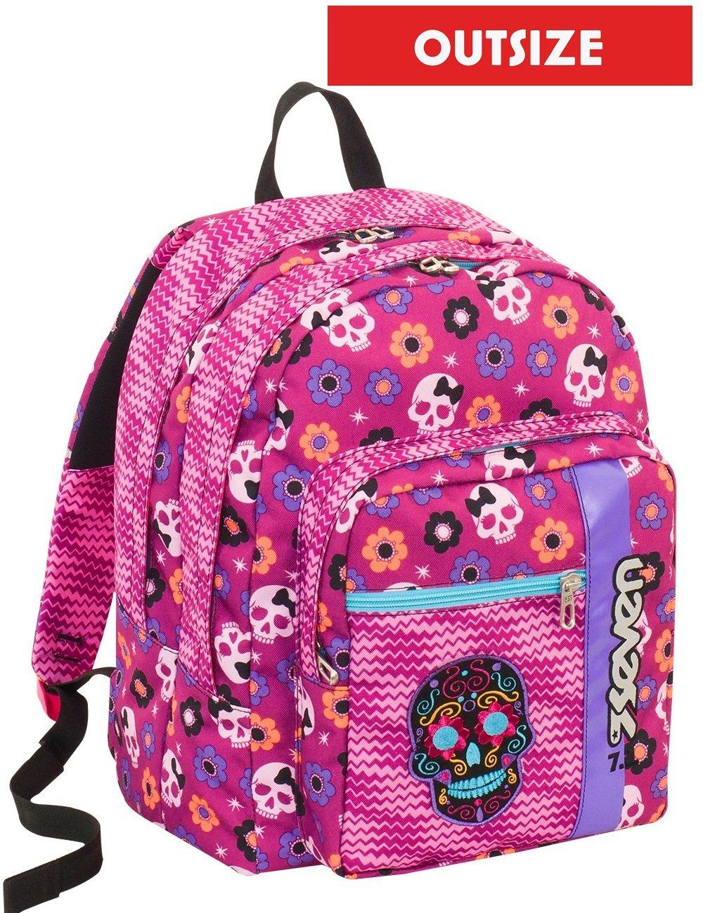 スクールバックパック アウトサイズ セブン メキシコガール ピンク 33 LT リュックサック 学生用バッグ   B07BN31QGC