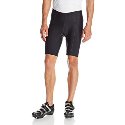 BDI Men's 6-Panel Flatseam Gel Cycling Shorts: Clothing