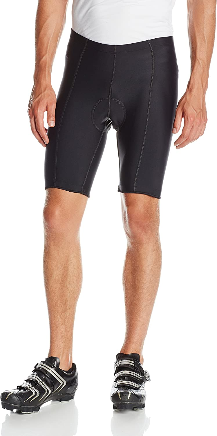 BDI Men's 6-Panel Flatseam Gel Cycling Shorts