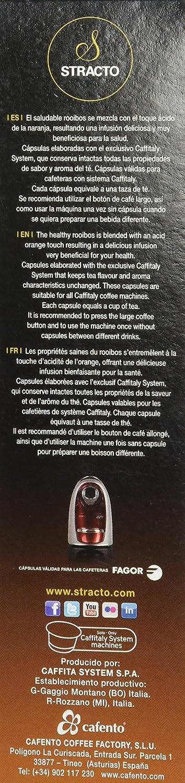 Cafeteno Café Stracto Rooibos Naranjo - 10 cápsulas: Amazon ...