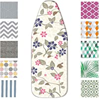 "Mabel Home Ironing Board Padded Cover, 100% Cotton (100, 14"" x 36"")"
