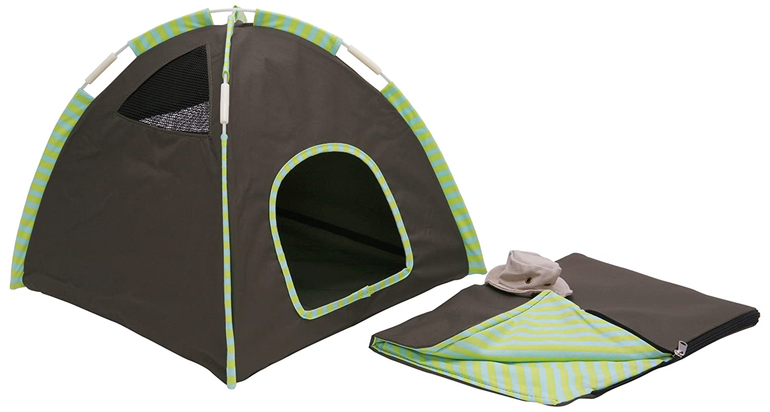sc 1 st  Amazon.com & Amazon.com : Marshall Small Pet Camping Set : Cat Tent : Pet Supplies