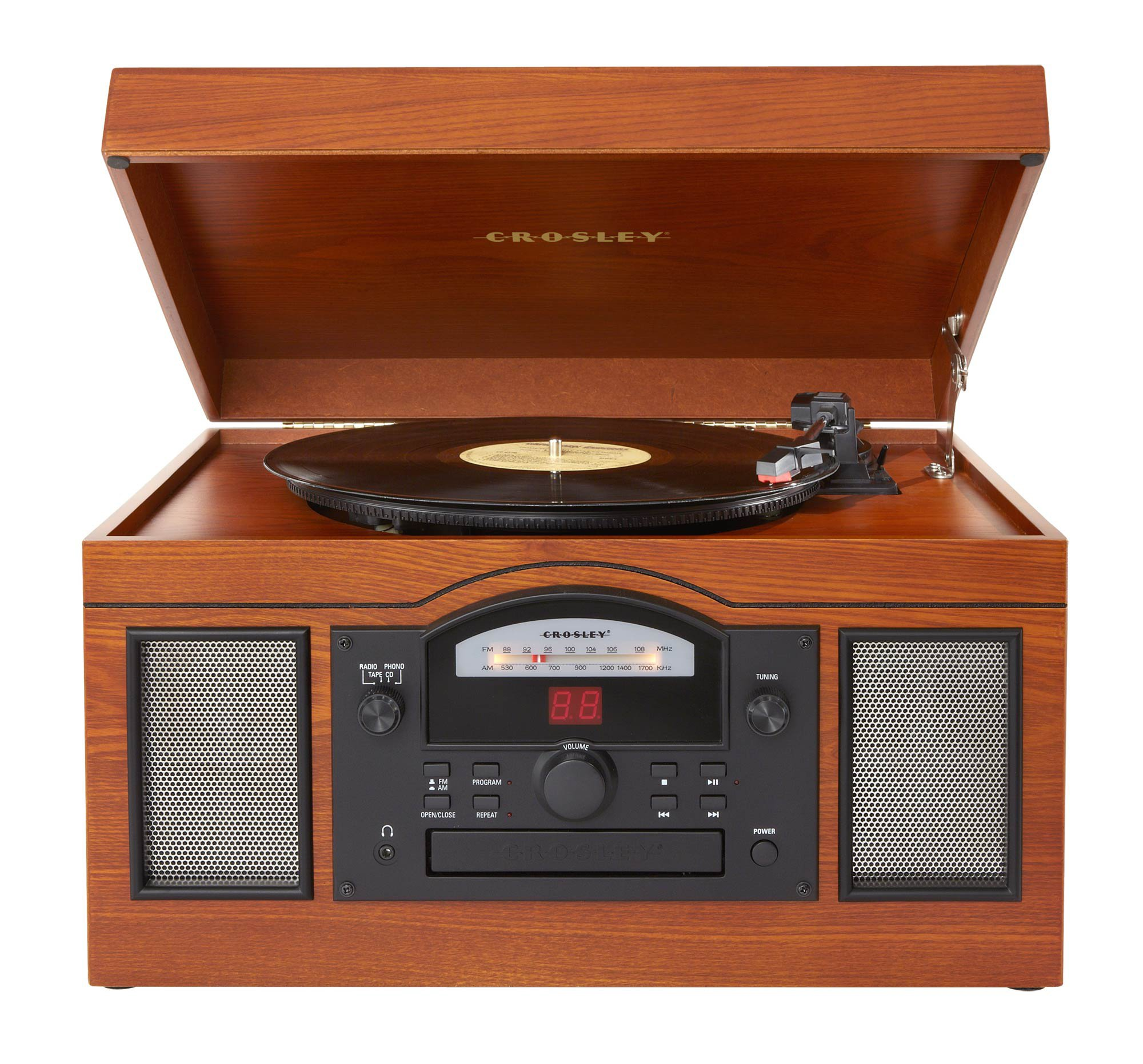 Crosley CR6001A-PA Archiver Turntable with Software for Ripping & Editing Audio, Paprika by Crosley